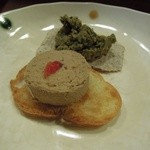 福来魚 - 白肝のパテ