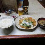 キッチンピッコロ - ピッコロ風カツ丼(680円)