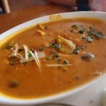 クリシュナ - 本日のカレーであるかぼちゃとキノコのカレー中辛。