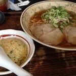 味華 - 半チャンセット ¥830