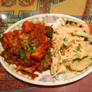 インド料理 マナカマナ - チキンチリ