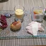 アマレット - 料理写真:オードブル盛合せ(lunch)+350円