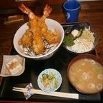23153240 - 大海老天丼(1050円)