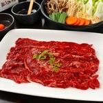銀座 だいしん - 大人気の馬肉しゃぶすき鍋