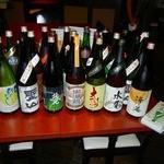 銀座 だいしん - 載せきれない程の日本酒!毎週メニューが変わります。