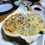 魚・肴・処 ひでまる - 帆立貝のグラタン600円