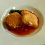 23155989 - 前菜:モッツァレラチーズのフリット
