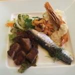レストラン ル・ブラン - 2013/7/24 フレンチ盛り込みプレート