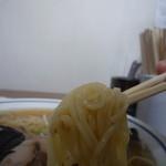 中華そば八千代 - 麺アップ!