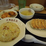 大阪王将 - 餃子定食