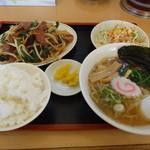 23158358 - レバニラ炒め定食(850円)