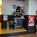 島崎うなぎ屋 - 玄関口です
