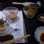 北海道海鮮・個室情緒 ~ 23番地 ~ - 小鉢のつまみ~☆