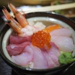 北海道海鮮・個室情緒 ~ 23番地 ~ - 海鮮丼~☆