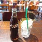 サントゥーダイナー - 何年ぶりかで瓶コーラを飲みました!^^)v