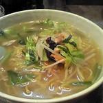 らーめん 北国 - 野菜ラーメン