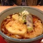 海菜魚藩 - 野菜天ぷらのせ麦切り