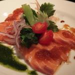 bar 祇園359 - 鮮魚のカルパッチョ