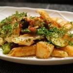 美食クラブ まさき家 - 魚介のペンネアラビアータ