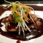 美食クラブ まさき家 - 料理写真:和牛ヘレフォアグラのワインソース添え