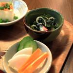リゾム - 定食の小鉢