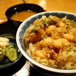 芭蕉庵 - 料理写真:夜限定のかき揚げ丼1300円