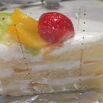 23166405 - フルーツショートケーキ 200円 【 2013年10月 】