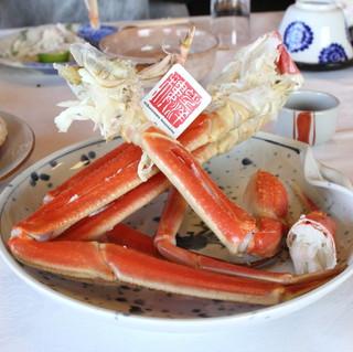 望洋樓 - 茹でズワイ蟹