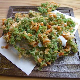 旬の食材をふんだんに使った旬菜料理。