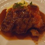 ビストロ 後藤 - あみやきステーキのアップ