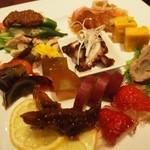 中国菜はら川 - 料理写真:前菜盛り合わせ