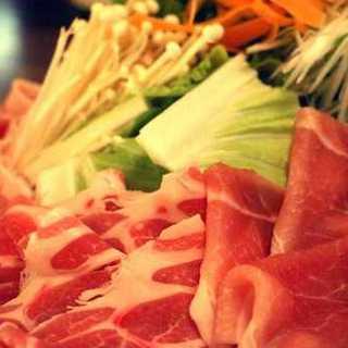 豚しゃぶしゃぶと旬料理コース