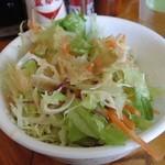 キッチンきねや - 料理写真:ポークステーキのサラダ
