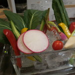 フレンチバル セレナ - 農園野菜のバーニャカウダ