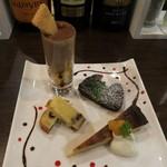 フレンチバル セレナ - デザート盛り合わせ