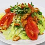旺角 - 鶏皮カリカリサラダ