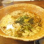 そば処 觀 - 鮨定食の蕎麦