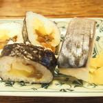 そば処 觀 - 鮨定食の鮨