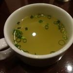 銀座ライオン - スープ付き