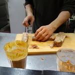 山猫軒 - 巨大なスッポンの煮こごり