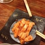 大鳳餃子 - 山芋のキムチ