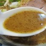 つけめん Shin. - 中華そば醤油・スープ