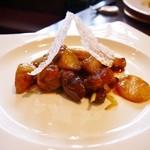 CUISINE China 凛 - 豚肉と根菜の炒め