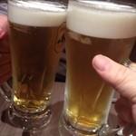 23184057 - 生ビールで乾杯!