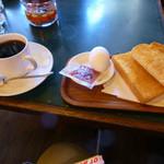 七宝館 - ブレンドコーヒーとモーニングサービス