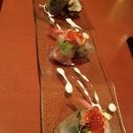 創作話食 藤ノ家 - ★本日の海鮮生春巻き★3種類のソースで楽しめます♪