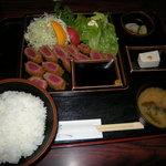 カツ・ステーキ専門店 さわや - 牛かつ定食1,900円