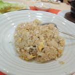 長城 - 【カに炒飯@800円位?】 この炒飯最高♪ 僕的には松山一かも。
