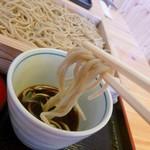 そば処 生粉紡 - 蕎麦とつゆ