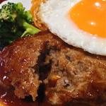 トマトさん - 料理写真:トマトセットのハンバーグ